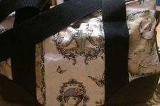 Makerist - Handtasche aus Baumwollstoff und Leder, mein Ostergeschenk.  - 1